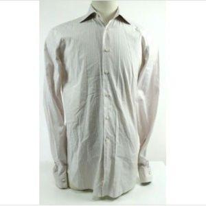 Ermenegildo Zegna Men's Shirt Size XL White EUC